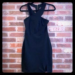 Black mini dress (express)